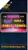 Wonderful and Wacky World of Table Tennis